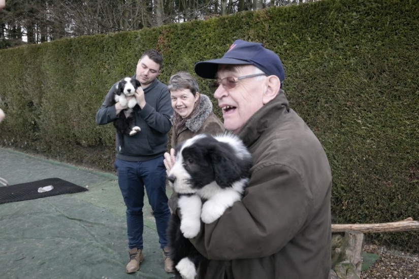 ter Engelen Gerard en pup